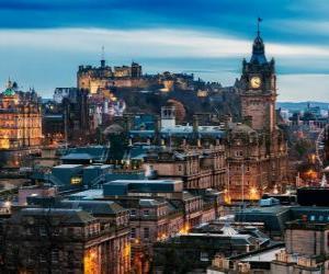 Puzle Edimburgo, Escócia, Reino Unido