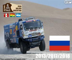 Puzle Eduard Nikolaïev, Dakar 2018