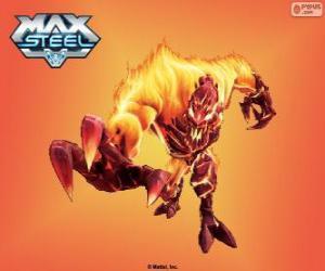 Puzle Elementor Fogo, Max Steel