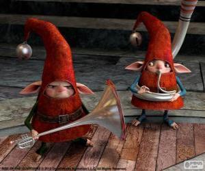 Puzle Elfos. A Origem dos Guardiões