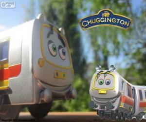 Puzle Emery, o trem rápido de Chuggington