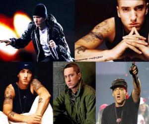 Puzle Eminem (EMINƎM) é um rapper