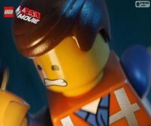 Puzle Emmet do Uma Aventura Lego, Lego, o filme