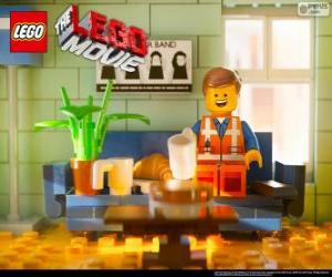 Puzle Emmet, o protagonista do filme Lego