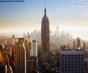 Puzle Empire State Building, Nova Iorque