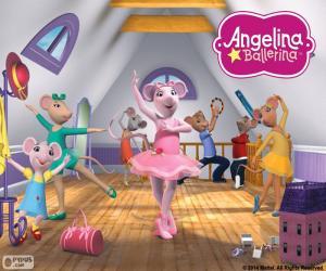 Puzle Ensaio de Angelina Ballerina