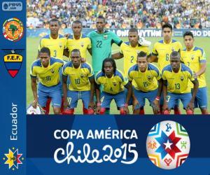 Puzle Equador Copa América 2015