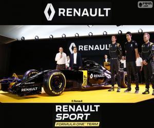 Puzle Equipe Renault Sport F1 2016