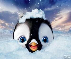 Puzle Erick é o personagem principal, Happy Feet 2