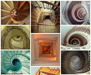 Puzle Escadas