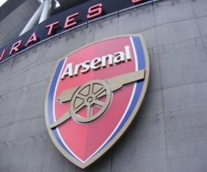 Puzle Escudo de Arsenal F.C.
