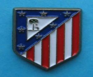 Puzle Escudo de Atlético de Madrid