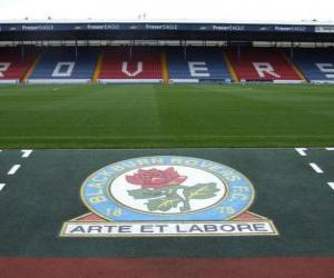 Puzle Escudo de Blackburn Rovers F.C.