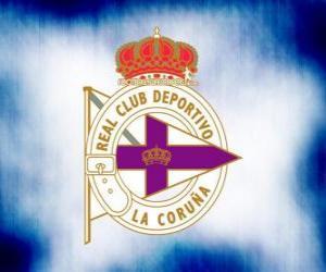 Puzle Escudo de Deportivo de La Coruña