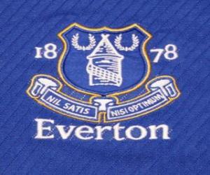 Puzle Escudo de Everton F.C.