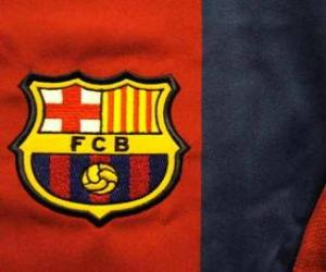 Puzle Escudo de F. C. Barcelona