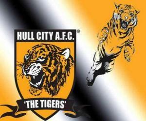 Puzle Escudo de Hull City A.F.C.