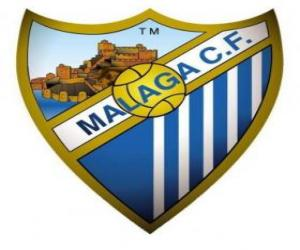 Puzle Escudo de Málaga C.F