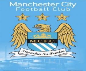 Puzle Escudo de Manchester City F.C.