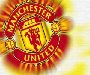 Puzle Escudo de Manchester United F.C.