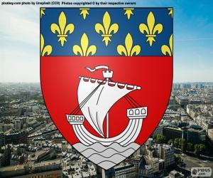 Puzle Escudo de Paris