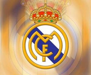 Puzle Escudo de Real Madrid