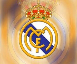 Puzle Escudo de Real Madrid