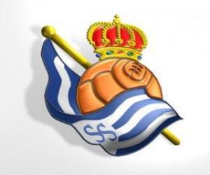 Puzle Escudo de Real Sociedad