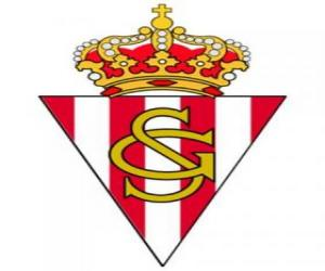 Puzle Escudo de Real Sporting de Gijón