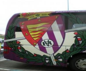 Puzle Escudo de Real Valladolid C. F.