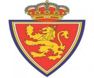 Puzle Escudo de Real Zaragoza.