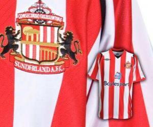 Puzle Escudo de Sunderland A.F.C.