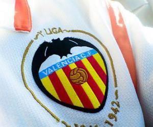 Puzle Escudo de Valencia C.F