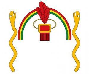 Puzle Escudo do Império Inca, Tawantinsuyu em quíchua