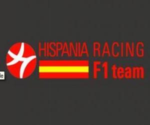 Puzle Escudo Racing de Hispania