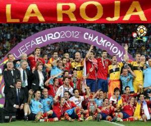 Puzle Espanha, campeã UEFA EURO 2012