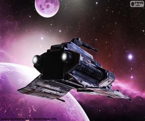 Puzle Especial de nave espacial