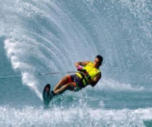 Puzle Esqui aquático