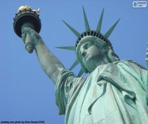 Puzle Estátua da liberdade, Nova Iorque