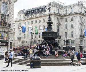 Puzle Estátua de Eros, Londres