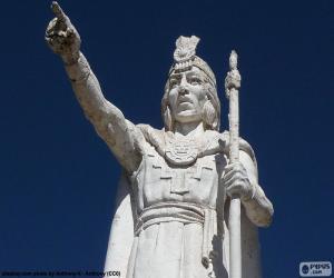 Puzle Estátua de Manco Capac