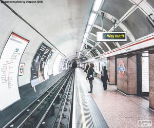 Puzle Estação de metro de Londres