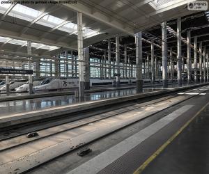 Puzle Estação Puerta de Atocha, Madrid
