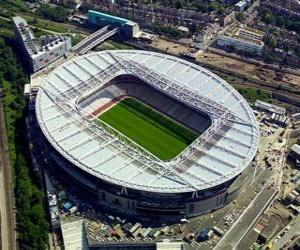 Puzle Estádio de Arsenal F.C. - Emirates Stadium -