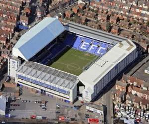 Puzle Estádio de Everton F.C. - Goodison Park -
