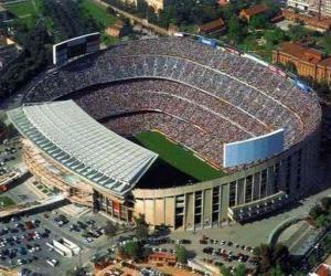 Puzle Estádio de F. C. Barcelona - Camp Nou -