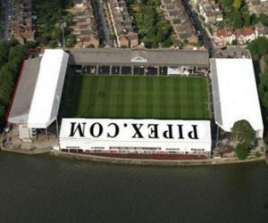 Puzle Estádio de Fulham F.C. - Craven Cottage -