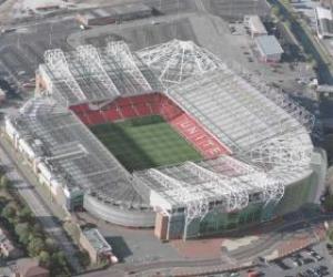 Puzle Estádio de Manchester United F.C. - Old Trafford -