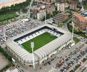 Puzle Estádio de Racing de Santander - El Sardinero -