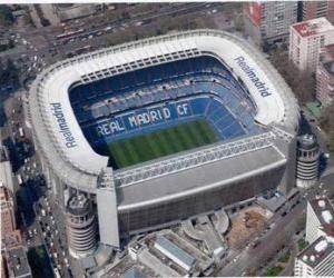 Puzle Estádio de Real Madrid - Santiago Bernabéu -